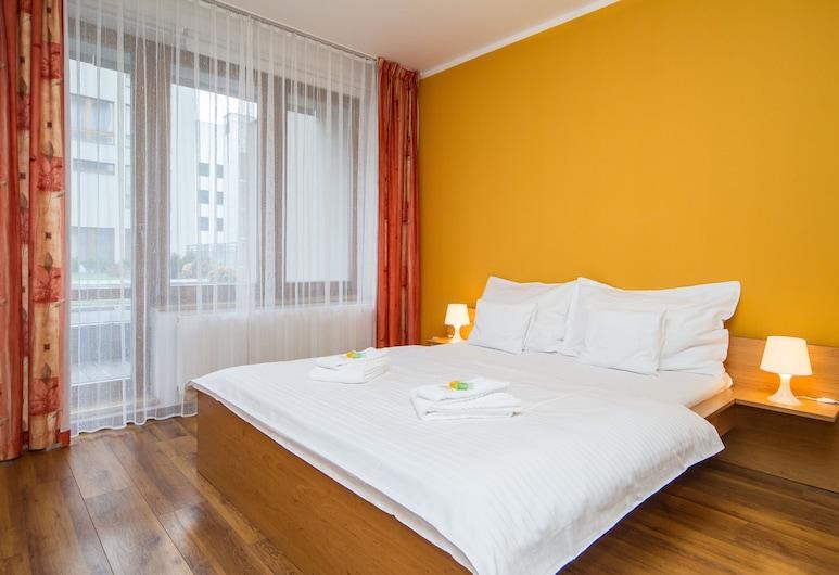 3D Apartments, Praga, Apartamento standard, 1 cama de casal com sofá-cama, Quarto