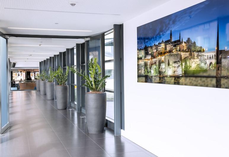 파크 인 바이 래디슨 룩셈부르크 시티, 룩셈부르크 시, 내부 입구