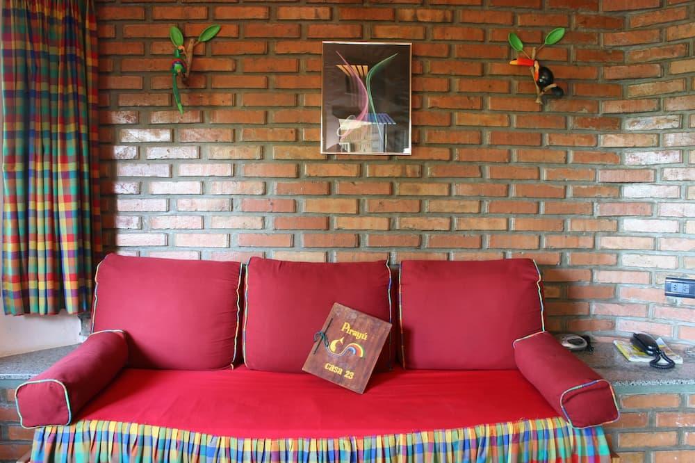 Bungalow (6 people) - Living Room