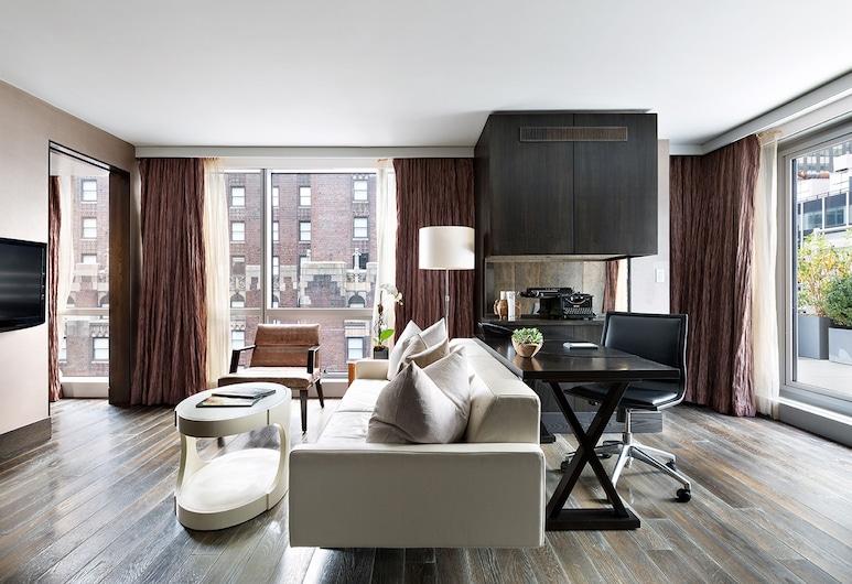 Hotel 48LEX New York, New York, Penthouse, 1 Tempat Tidur King, Ruang Keluarga