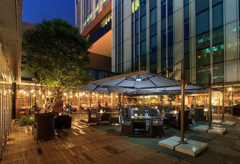 Hotel ICON, Kowloon, Dinerruimte buiten