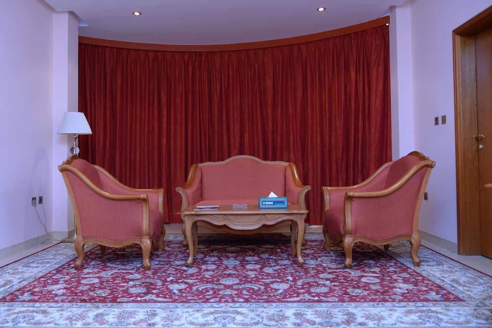Apartament typu Executive Suite, Łóżko king (Breakfast for 1) - Salon