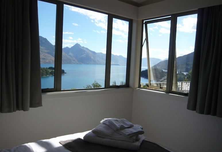 The B and B on the Hill, Queenstown, Doppelzimmer, Ausblick vom Zimmer