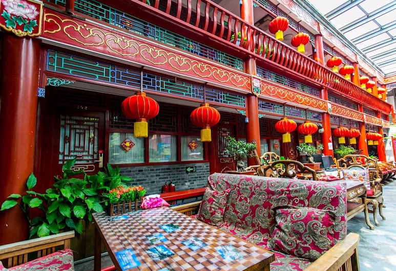 Imperial Courtyard Hotel, Peking, Hotelbar