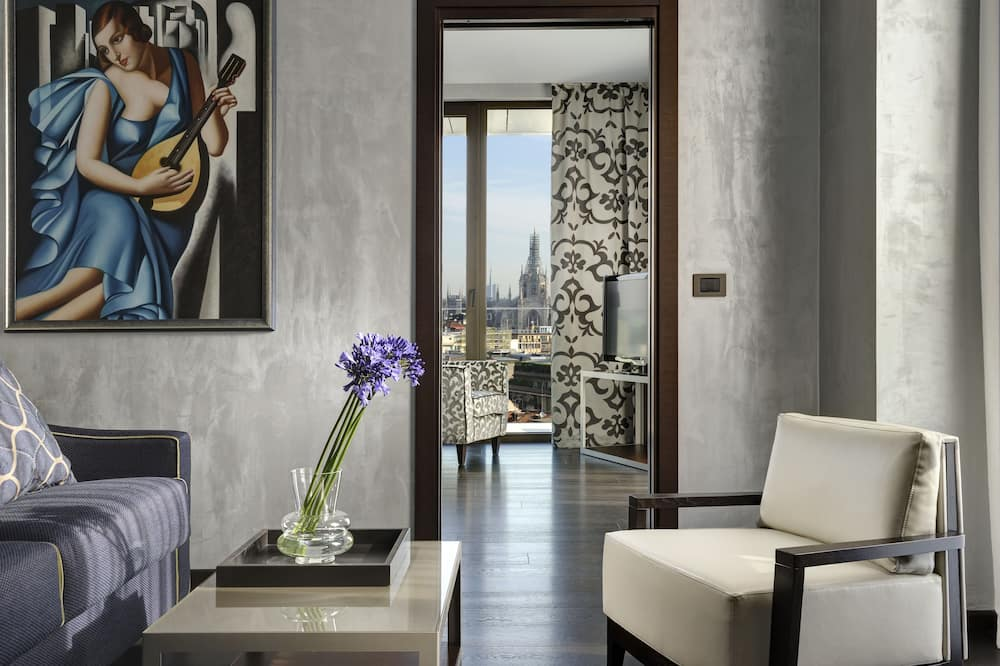 Suite (Duomo view) - Oppholdsområde