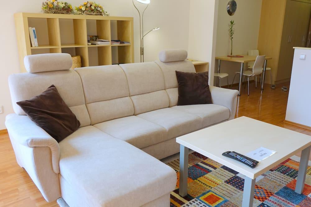 Apartment, Balcony - Ruang Tamu