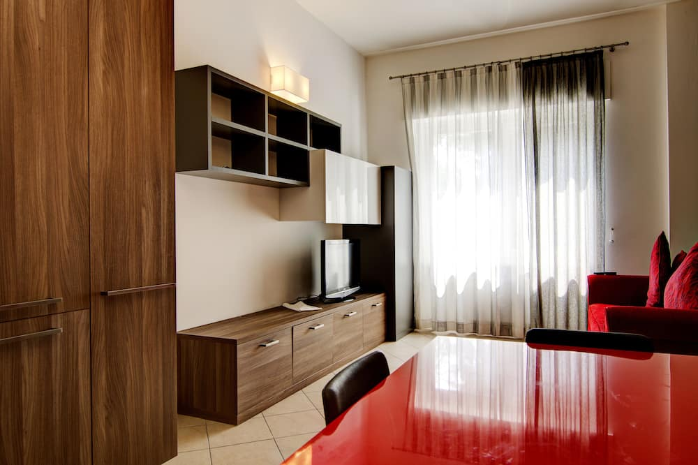 Suite (1 person) - Sala de estar