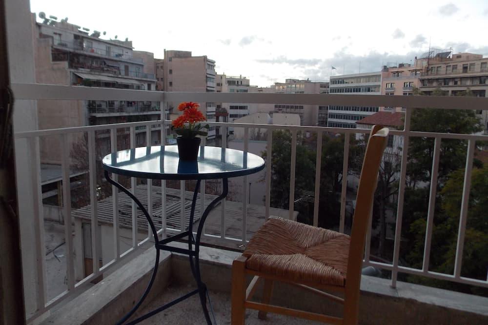 Standard-Doppel- oder -Zweibettzimmer, Gemeinschaftsbad - Balkon