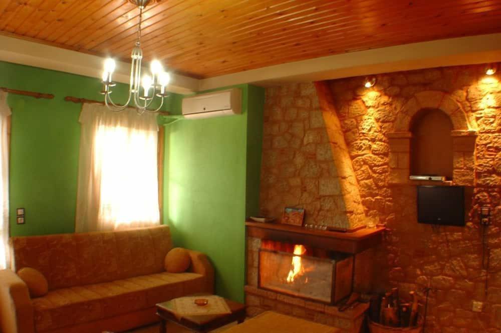開放式客房, 壁爐 - 客廳