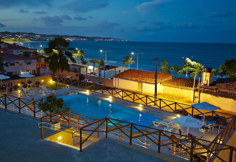 亞蘭蓬塔內格拉酒店, 納塔爾, 酒店正面