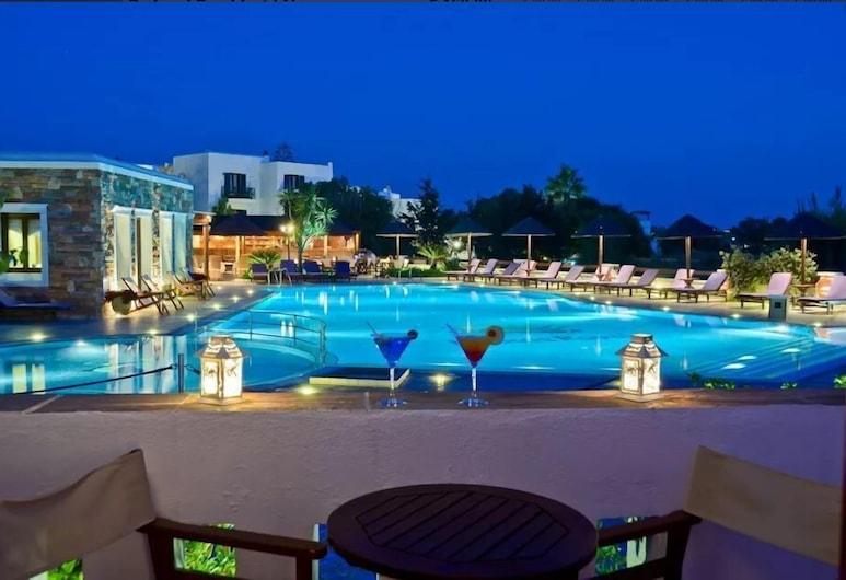 Naxos Resort, Νάξος, Δίκλινο Δωμάτιο (Double), Θέα στην Πισίνα, Δωμάτιο επισκεπτών