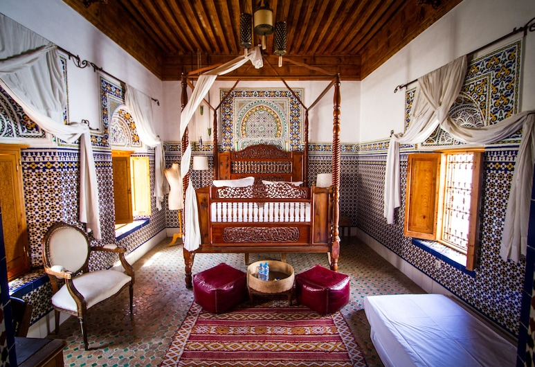 دار ميسان, الرباط, غرفة مزدوجة (La Sultane), غرفة نزلاء