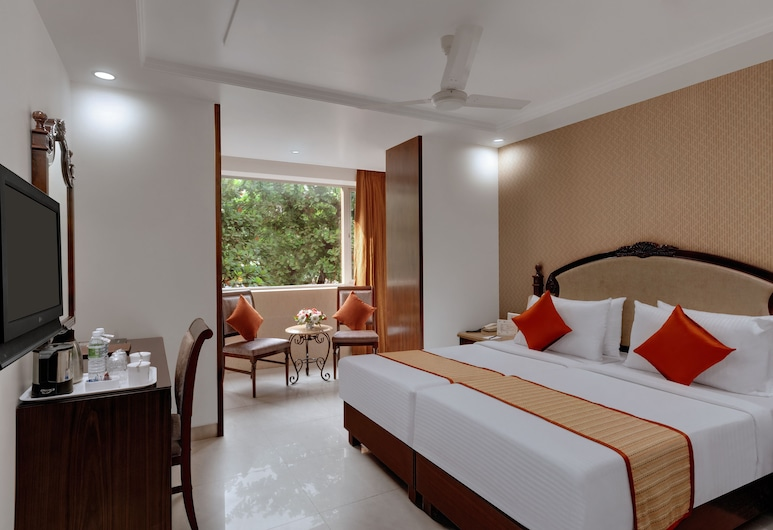 Hotel Suba Palace, Bombay / Mumbai, Chambre Deluxe, 1 lit double ou 2 lits jumeaux, Chambre