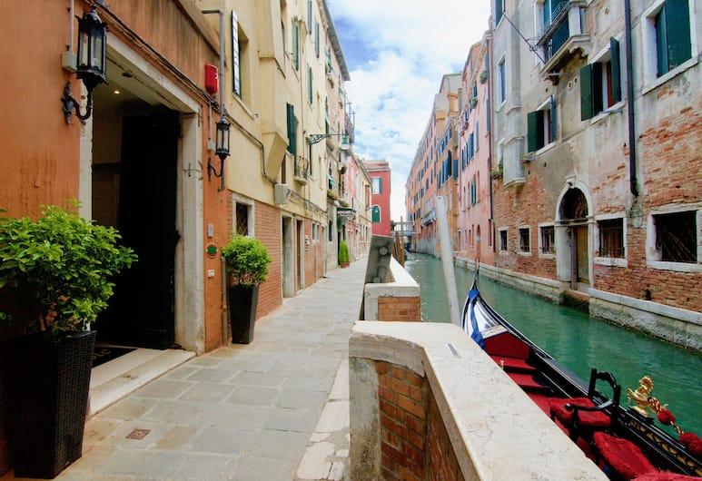 Hotel Le Isole, Venēcija, Viesnīcas ieeja
