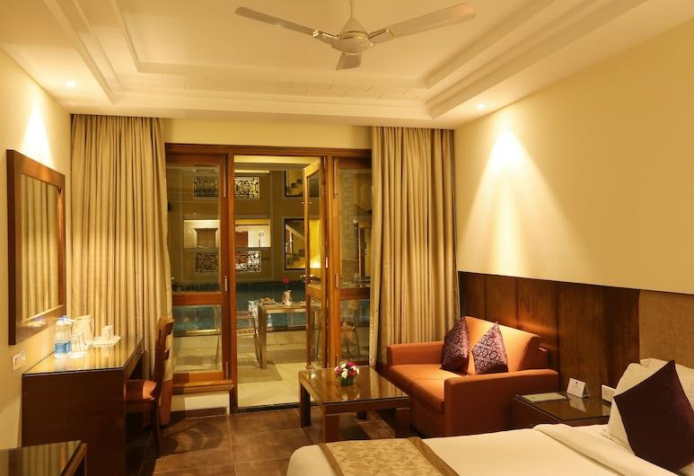 Resort De Coracao By FIRST HALT - Calangute, Goa, Calangute, Kambarys (Super), Svečių kambarys