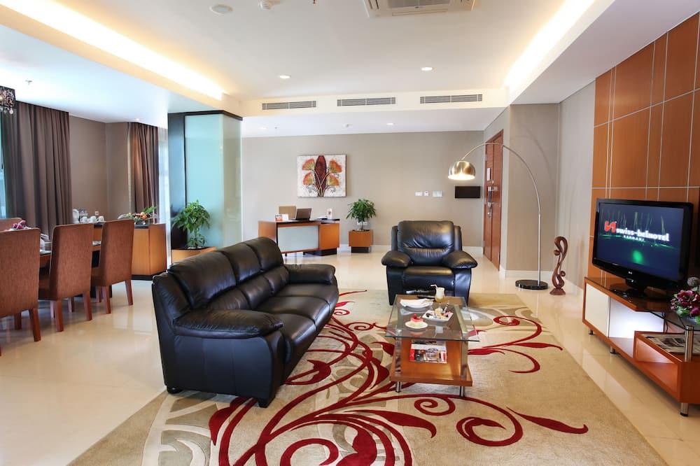 Представительский люкс - Гостиная