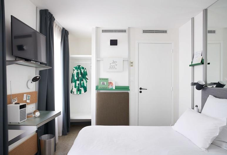 法國理論酒店, 巴黎, 標準單人房, 客房