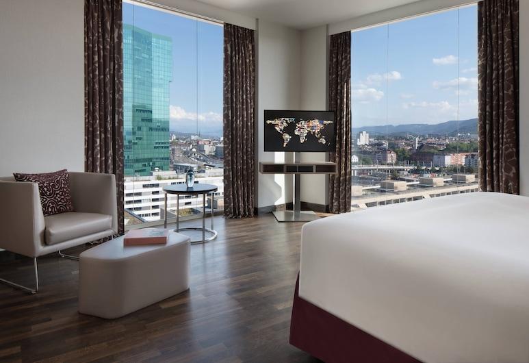 르네상스 취리히 타워 호텔, 취리히, 객실