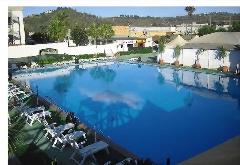 다르플라 호텔, 포추올리, 야외 수영장