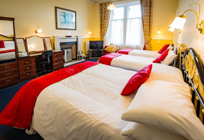 Strathallan Guest House, Edinburgh, Superior Double Room (Room 3), Guest Room