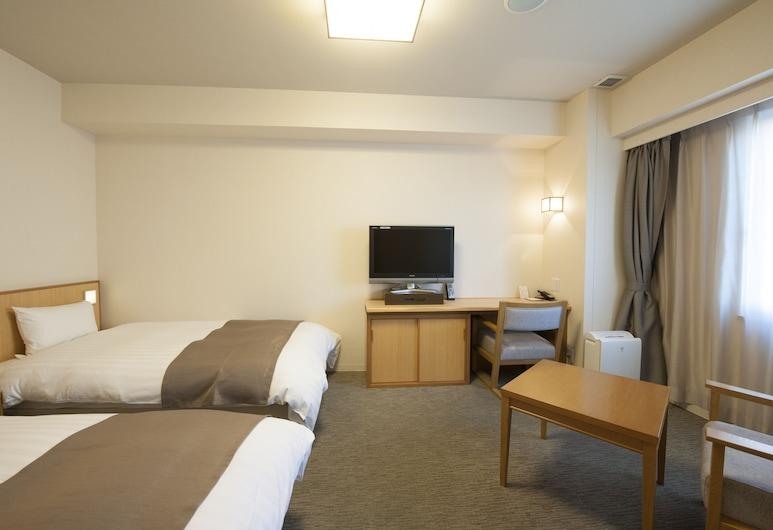 Dormy Inn Tsu Natural Hot Spring, Cu, Dvivietis kambarys (2 viengulės lovos), Nerūkantiesiems (No Cleaning during the stay), Svečių kambarys