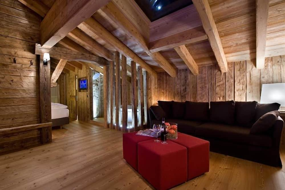 Lyxsvit - balkong - Vardagsrum