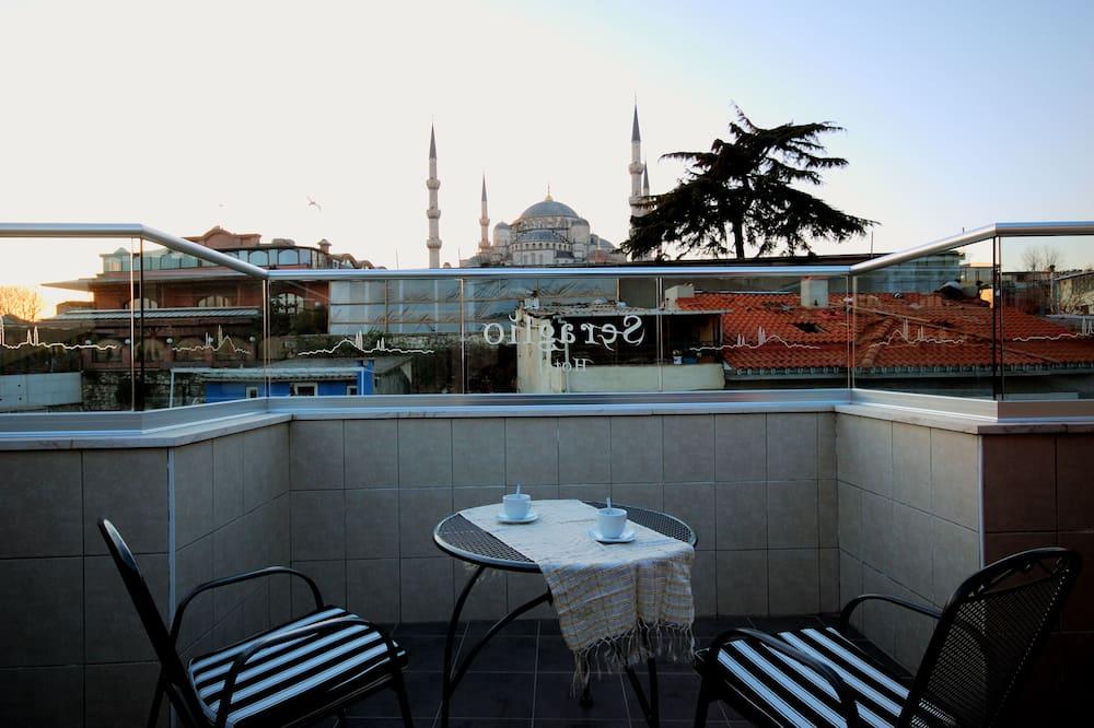 Blue Mosque Deluxe Terrace Room  - Teras/Veranda