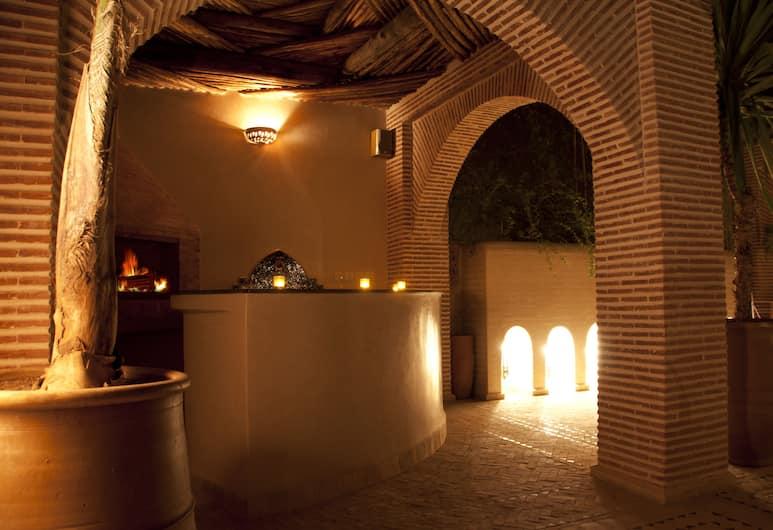 Riad Granvilier, Marrakech, Teres/Laman Dalam