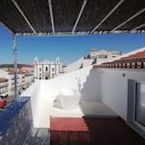 Ateliérový apartmán s panoramatickým výhľadom, terasa, výhľad na mesto - Terasa