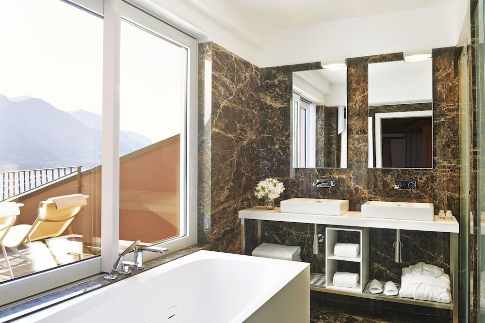 Belvedere Tower Suite on 2 Levels With Lake View - Kupaonica