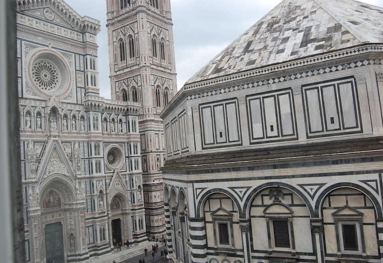 Duomo View B&B, Florencia, Habitación superior, 1 cama matrimonial, vistas a la ciudad, Habitación