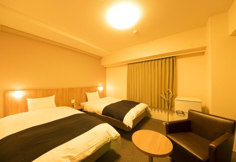 Dormy Inn Express Mikawa Anjo Natural Hot Spring, Anjo, Camera con 2 letti singoli (Single Use), Camera