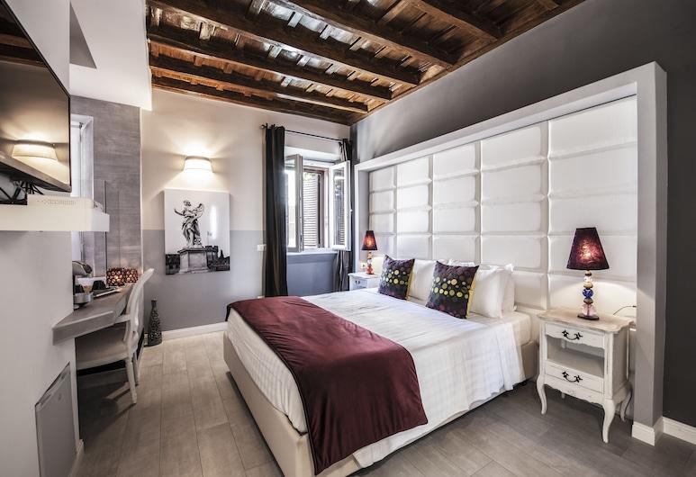 西班牙聯排別墅酒店, 羅馬, 雙人房, 客房