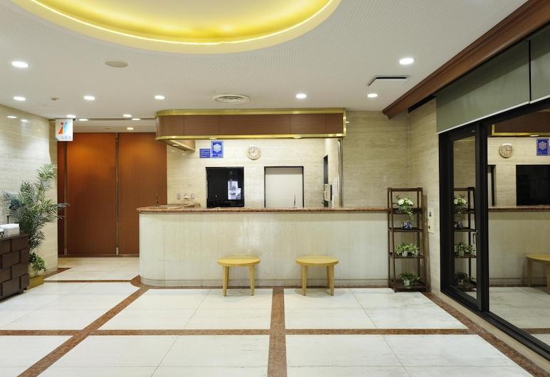 博多站前苑飯店, 福岡, 櫃台