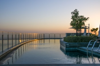 Fotografia hotela (Andaz Capital Gate Abu Dhabi – a concept by Hyatt) v meste Abú Zabí