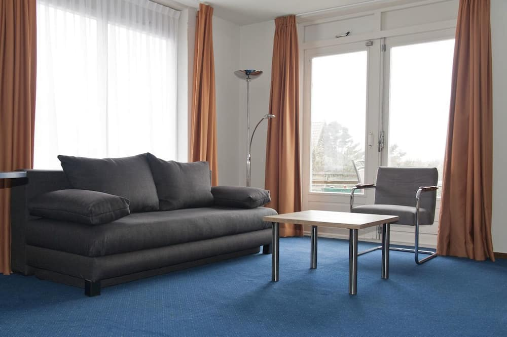 Apartment (Land View) - Living Area