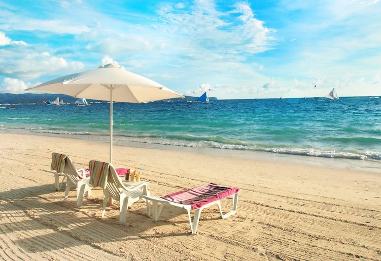 Grand Blue Beach Hotel, Boracay Island, Beach
