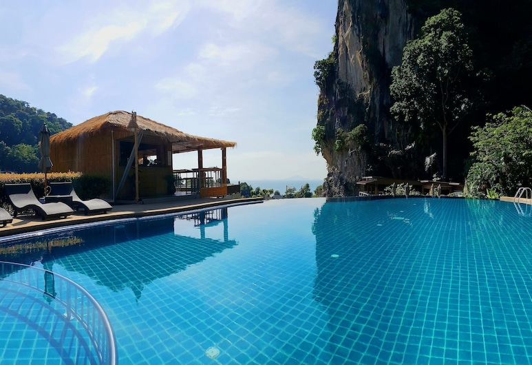 Railay Phutawan Resort, Krabi, Piscina a sfioro