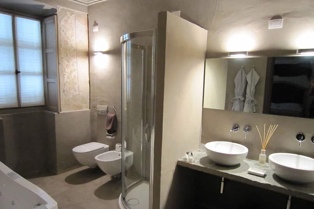 Habitación clásica doble de uso individual - Cuarto de baño