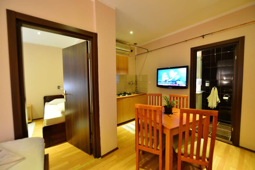 Appartamento Comfort, 1 camera da letto - Pasti in camera
