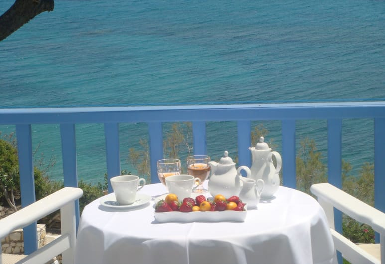 Nissiotiko Hotel, Paros, Standard Room, Sea View, Balcony