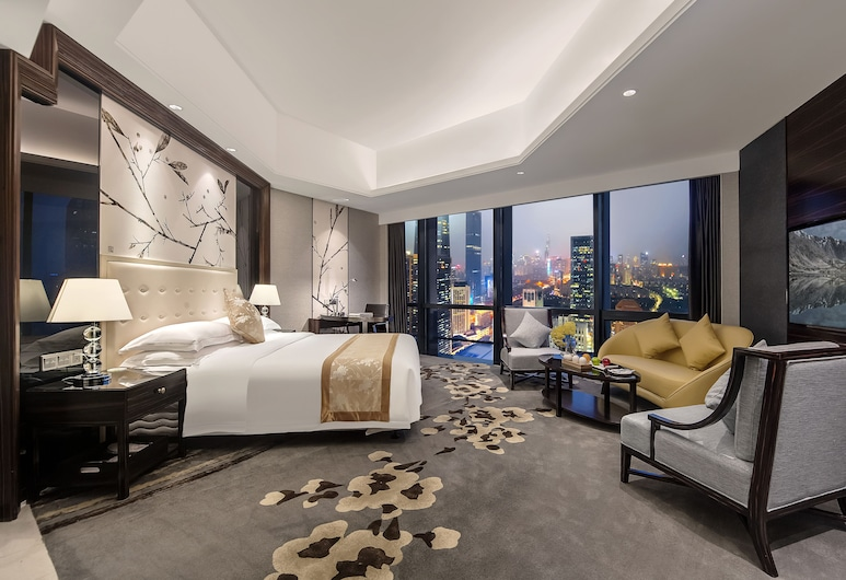 Shenzhen Huaqiang Plaza Hotel, Shenzhen, Kamar Grand, 1 kamar tidur, Kamar Tamu