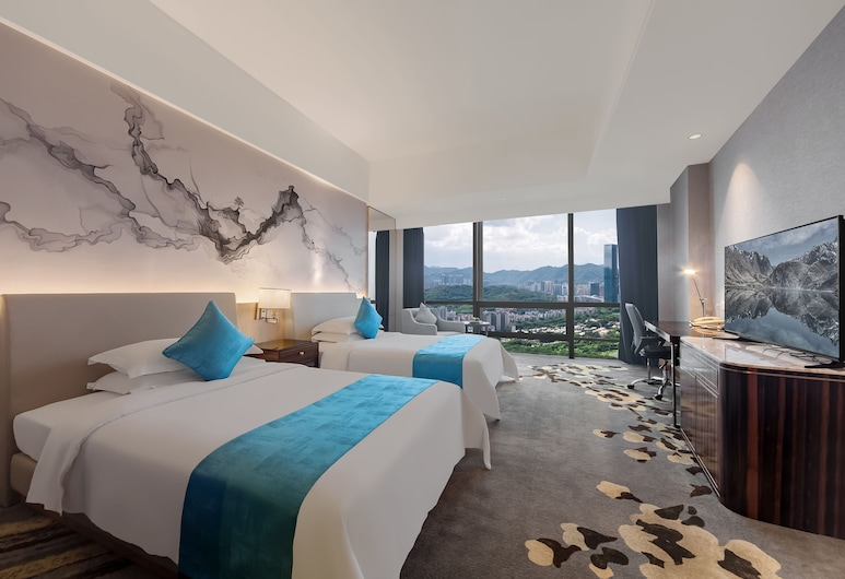 Shenzhen Huaqiang Plaza Hotel, Shenzhen, Habitación Deluxe, Vistas de la habitación