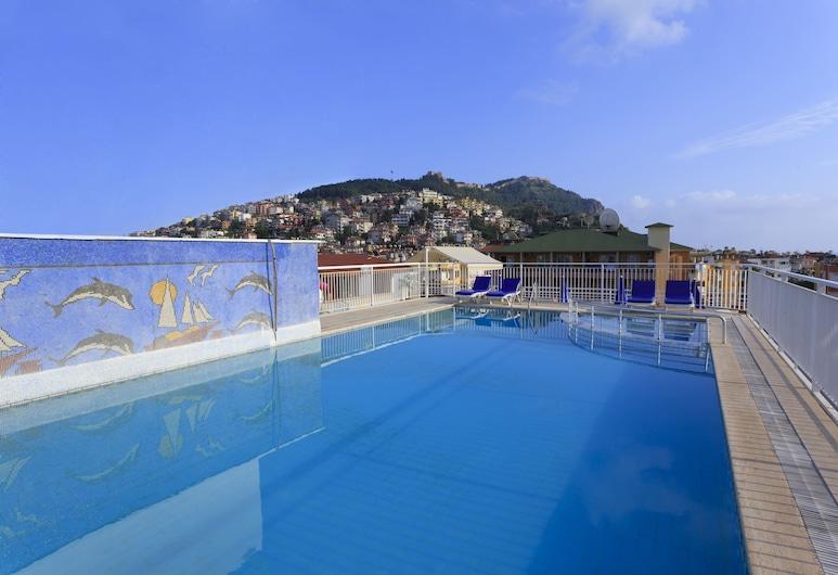 Kleopatra Aytur Apart Hotel, Alanya, Vonkajší bazén