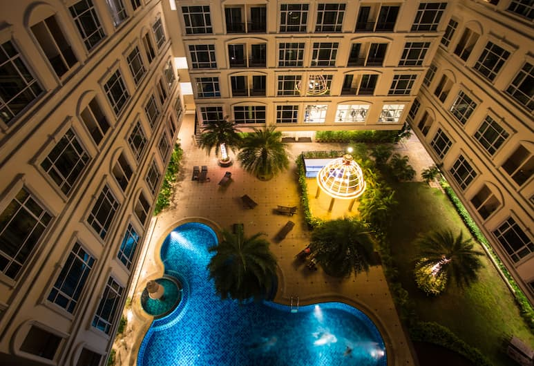 Hope Land Hotel Sukhumvit 46/1, Bangkok, Innergård