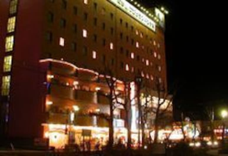 驛前富士大飯店, 會津若松, 飯店入口 - 夜景
