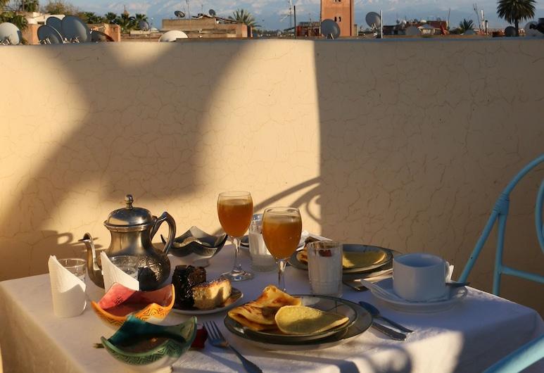 Riad Sidi Mimoune, Marrakech, Terraza o patio