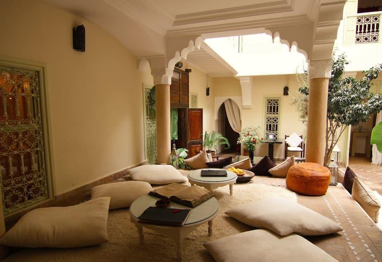 達累斯薩拉姆水晶酒店, 馬拉喀什, 大堂閒坐區