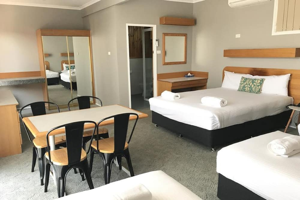 Standard Family Room (Queen + 2 Singles) - Living Area