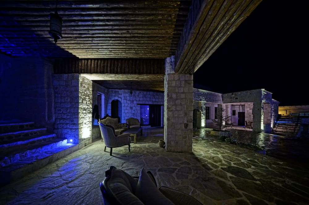 Luxury Cave Suite with Turkish Bath - Área de Estar